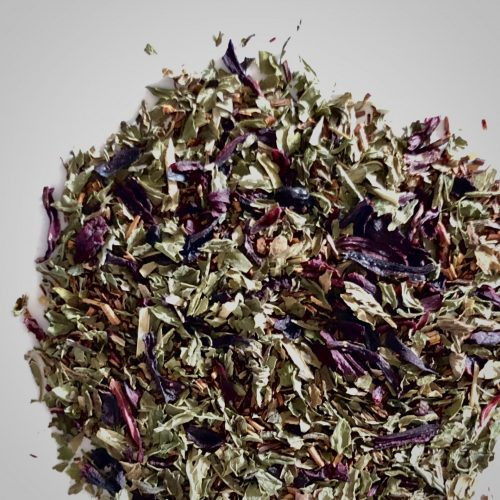 Hibiscus Mint Loose Leaf Tea- With or Without CBD.