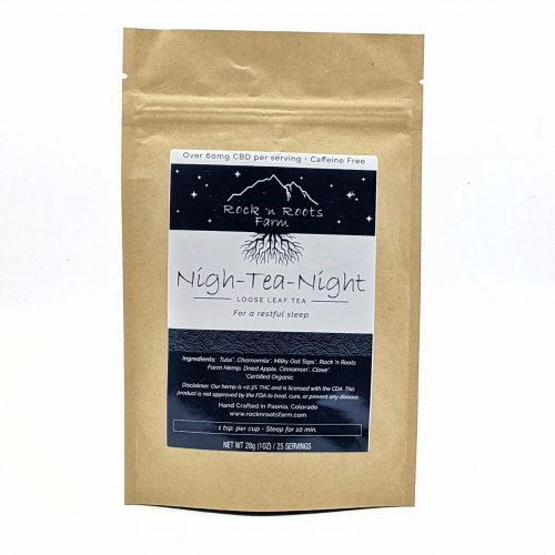 Nigh-Tea-Night Hemp CBD Loose Leaf Tea